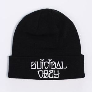 OBEY SUICIDAL OBEY BEANIE