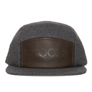 CROOKS & CASTLES Mens Woven 5-Panel Cap - Serif [2]
