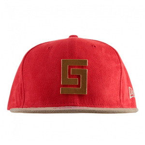 CROOKS & CASTLES Mens Woven Strapback Cap - Thuxury Core Logo [2]