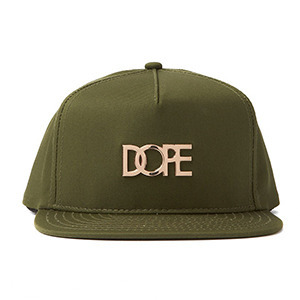 DOPE Small Metal Plate Logo Snapback [4]