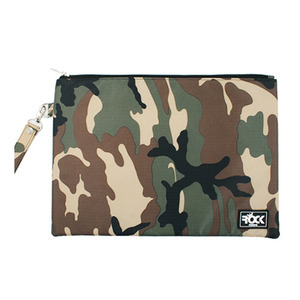 ROCK PSYCHO CLUTCH BAG KHAKI