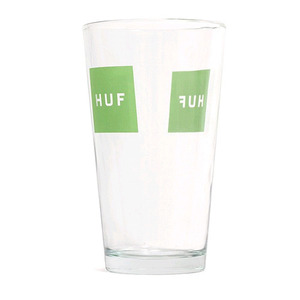 HUF BOX LOGO PINT GLASS