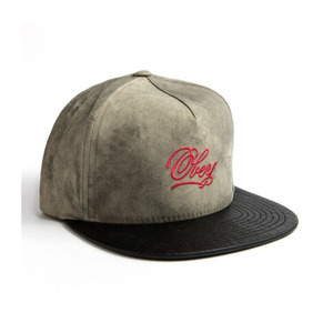 OBEY BLEEKER HAT CHARCOAL