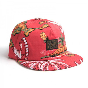 OBEY TROPICS SNAPBACK RED