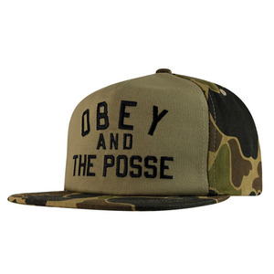 OBEY ADVENTURE SNAPBACK BUBBLE CAMO