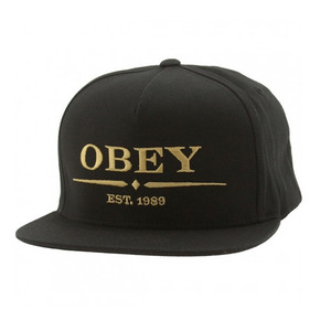 OBEY ATLANTIC SNAPBACK BLACK