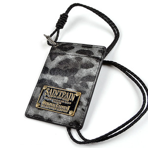 SAINTPAIN Bank Card Gray Leopard