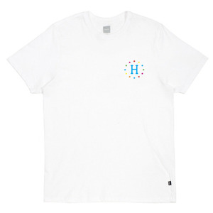 HUF 144 GALAXIES TEE WHITE