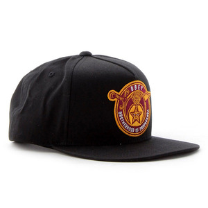 OBEY BROTHERHOOD SNAPBACK BLACK