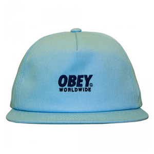 OBEY PORTLAND SNAPBACK LIGHT BLUE