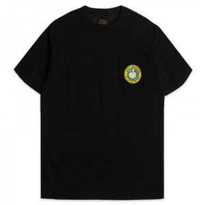 OBEY GO AWAY TEE BLACK