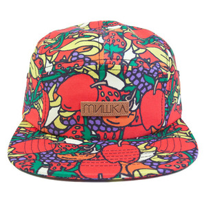 MISHKA Hard Candy 5 Panel Red