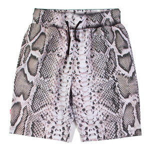 MISHKA Snake Bite Shorts White