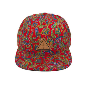BLACK SCALE Palme Trois SnapBack RED