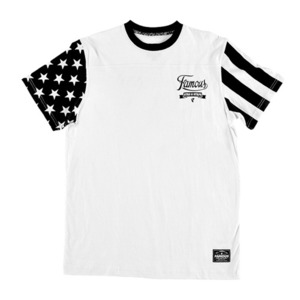 FAMOUS STARS AND STRIPES TEE WT