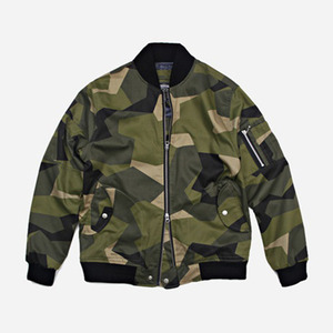 FRIZM WORKS TWILL MA-1 FLIGHT JACKET