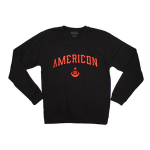 [Special Project] BLACK SCALE Americon Crewneck MH x BS