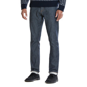 OBEY NEW THREAT SELVEDGE RAW INDIGO
