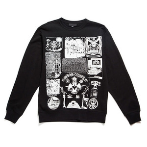 BLACK SCALE Societies Silent Secret Crewneck