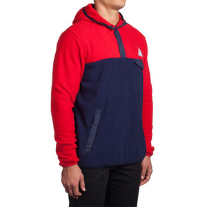 HUF POLAR FLEECE PULLOVER SNAP HOOD