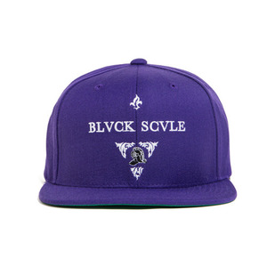 BLACK SCALE Blvck Knight Snap Back, Purple