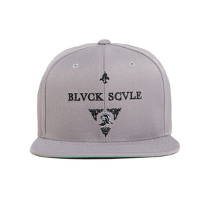 BLACK SCALE Blvck Knight Snap Back, Grey