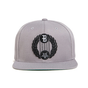 BLACK SCALE Star Crescent Snap Back, Grey