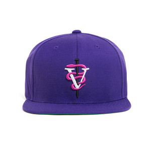 BLACK SCALE VS Snake Snap Back, Purple