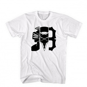 BLACK SCALE ARCHIVAL TEE WHT