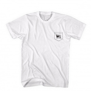 BLACK SCALE US MADE TEE WHT