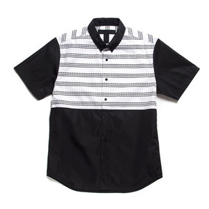 [45% Sale] BLACK SCALE LEYVA BUTTON DOWN