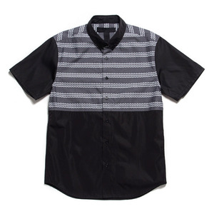 [45% Sale]BLACK SCALE LEYVA BUTTON DOWN