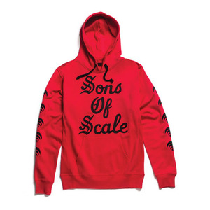 50%saleBLACK SCALE Forever Scale, Red