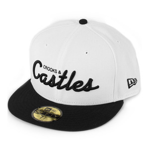 CROOKS & CASTLES Men's Woven Fitted Cap - Team Crooks
