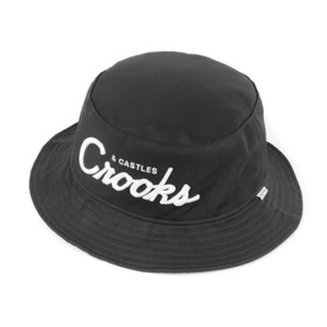 CROOKS & CASTLES Men's Woven Bucket Hat - Team Crooks
