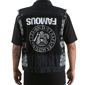 FAMOUS GO HARDER DENIM VEST