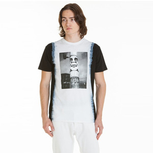 OBEY POSTER POLE PHOTO TIE DYE TEES