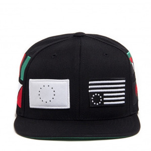 BLACK SCALE Pandemic Snapback, Black