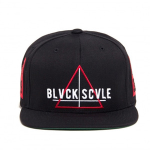 BLACK SCALE Team Blvck Snapback, Black
