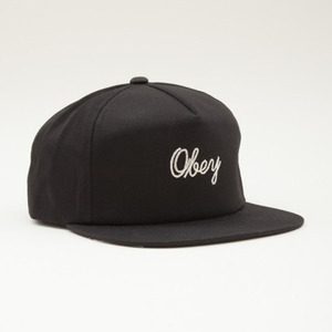 OBEY EUCLID HAT BLACK
