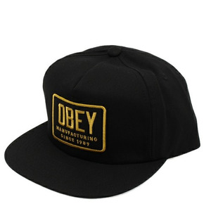 OBEY INDUSTRIAL SNAPBACK