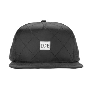 DOPE Quilted Nylon Snapback