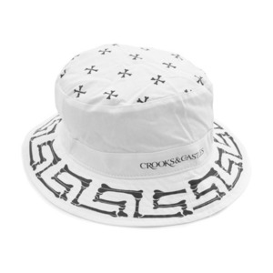 CROOKS & CASTLES Men's Woven Bucket Hat - Muerto