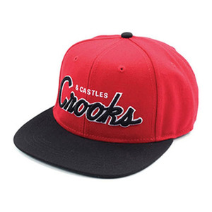 CROOKS & CASTLES Men's Woven Snapback Cap - Team Crooks