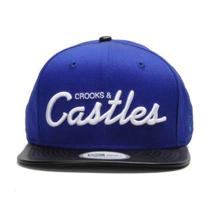 CROOKS & CASTLES Men's Woven Strapback Cap - Thuxury Castles