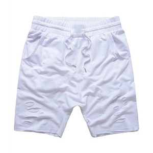 FNTY distresed drop crotch shorts