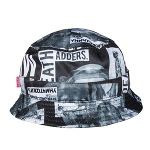 MISHKA Radioactive Block Bucket Hat