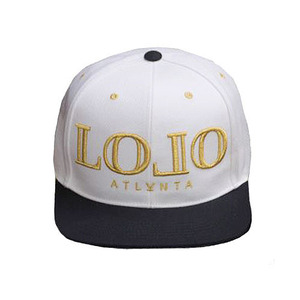 L.O.L.O Snapback - Diamond White/Black