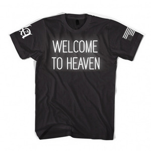 [45% Sale]  [Special Project] BLACK SCALE LA EXCLUSIVE – WELCOME TO HEAVEN TEE