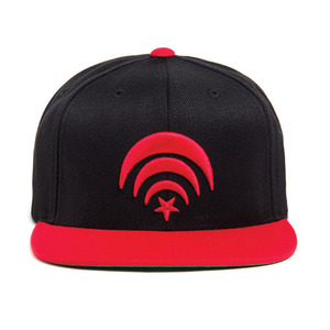 BLACK SCALE Connect Snapback (Red)